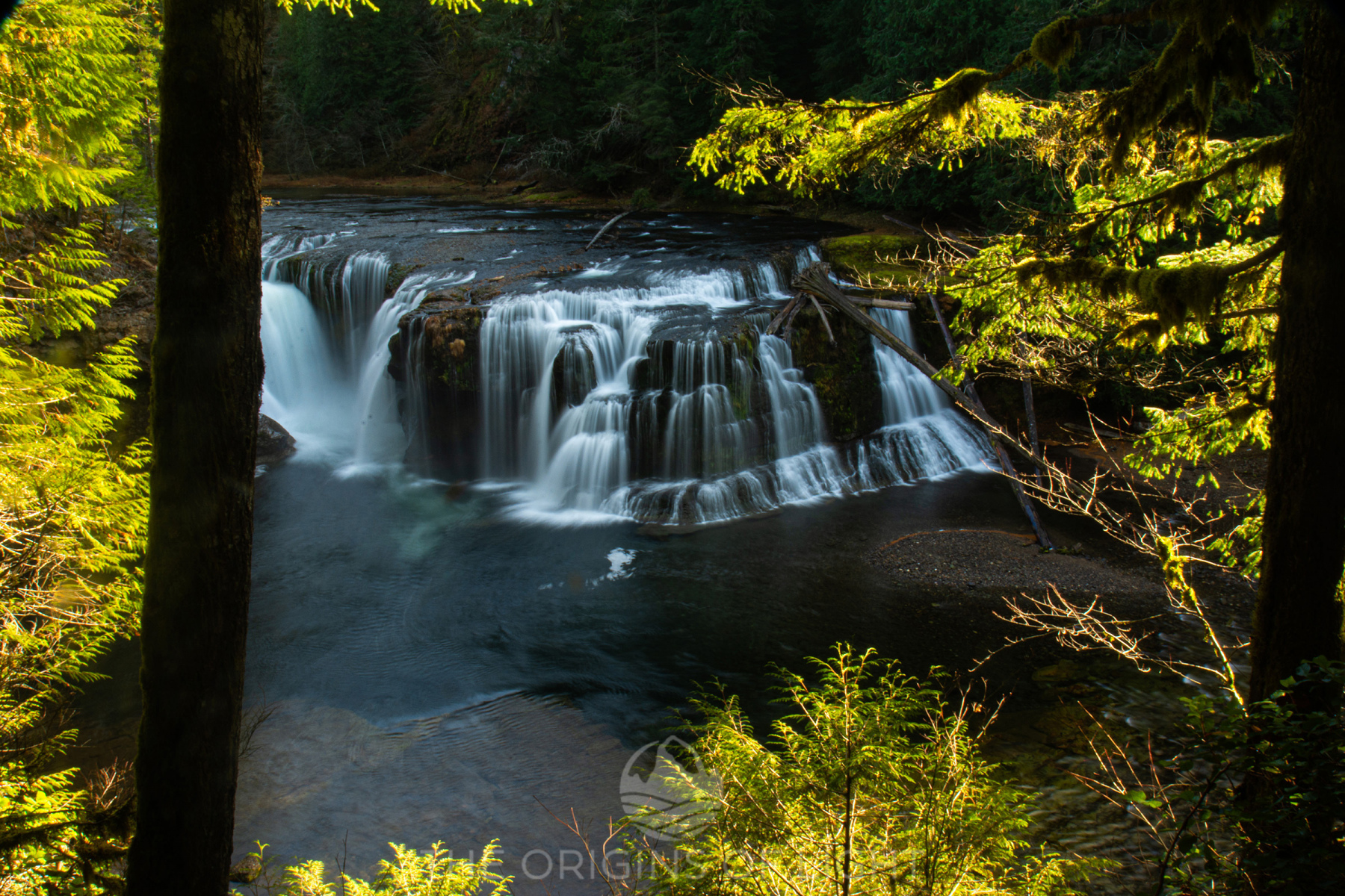 Lower Lewis Falls, Washington