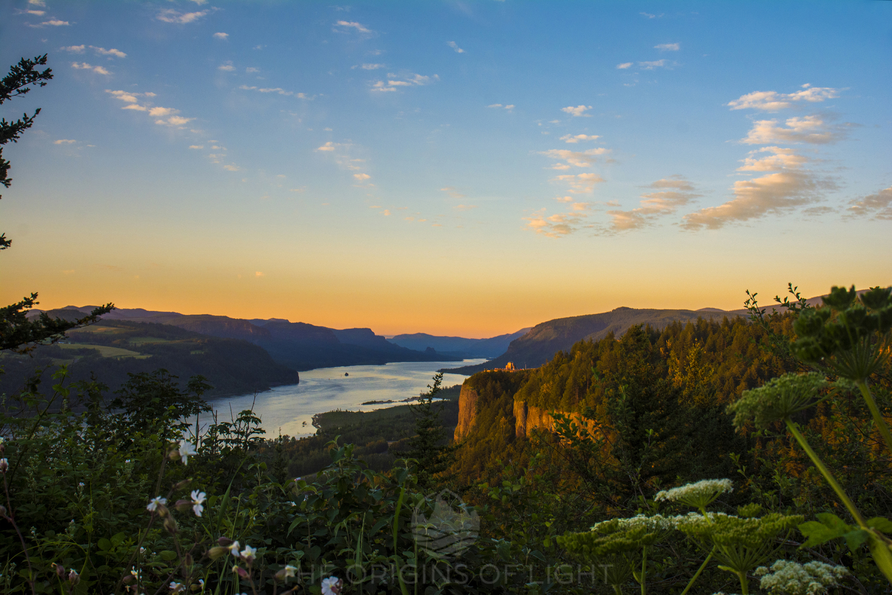 Columbia River Gorge from Womens Forum