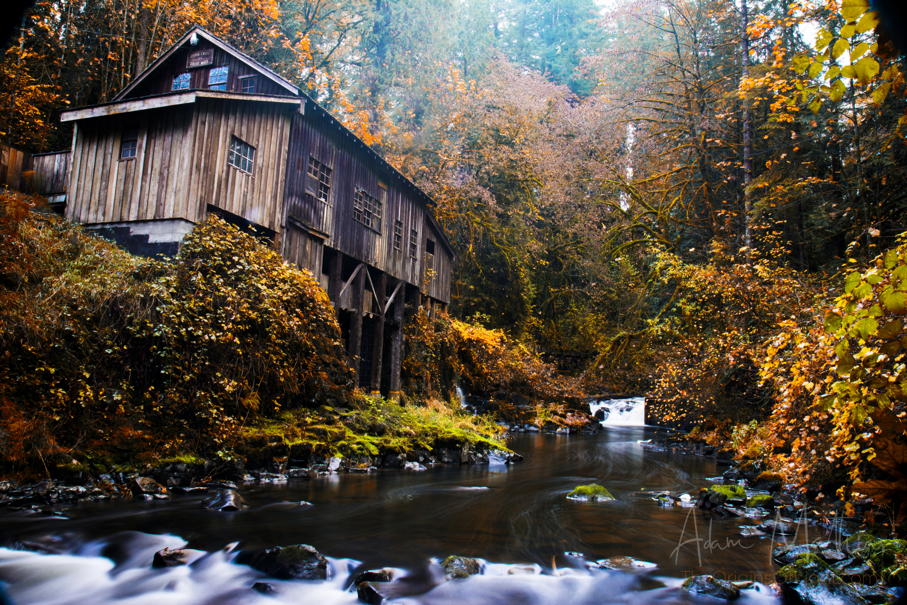 Cedar Grist Mill, Washington